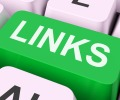 Links Key Showing Backinks Linking And Seo
