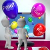Balloons With Free Shows Freebies and Promotions Online
