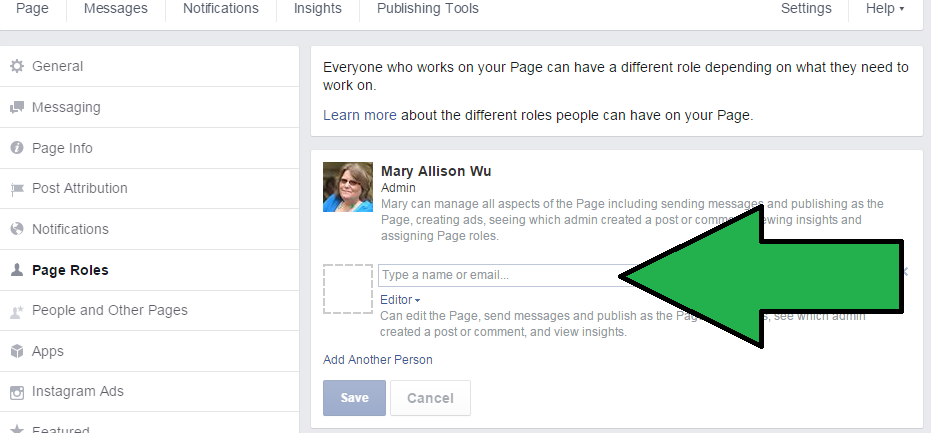 How to add an Admin to your Facebook Business Page | Mary Wu